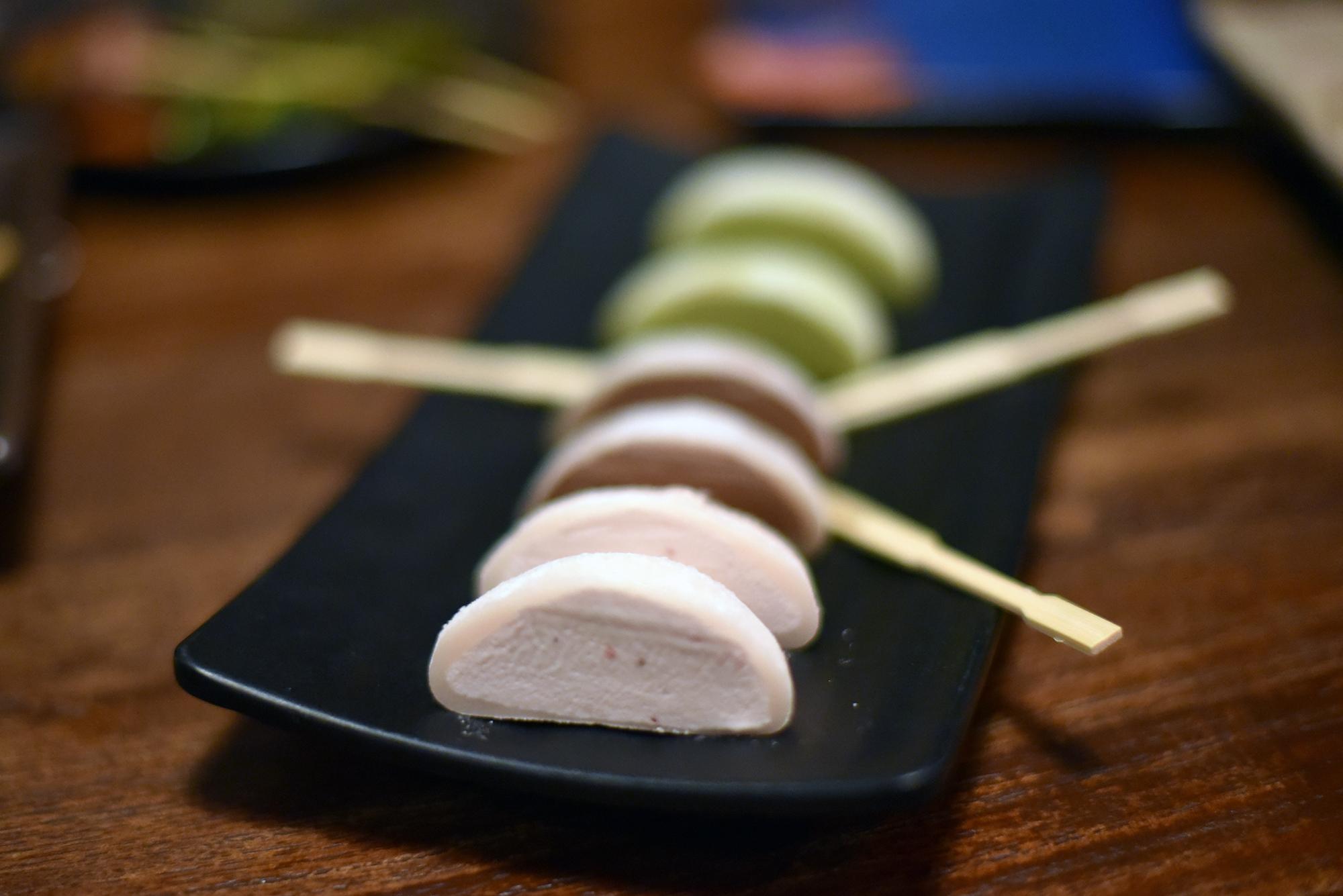 Mochi Ice Cream at Izayaka NoMAd