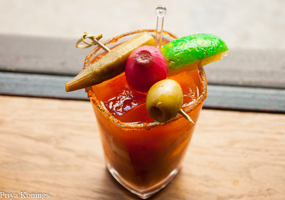 Bloody Marys from the Woodward Table Brunch